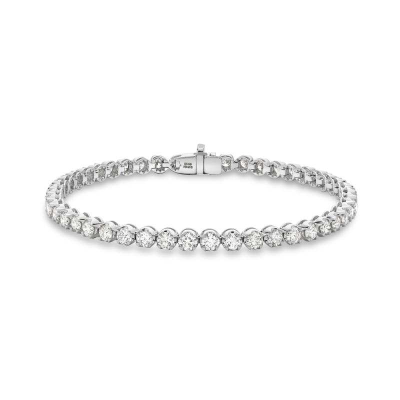 Brilliant cut diamond tennis bracelet in 18ct white gold, 2281,  [product_GENDER]