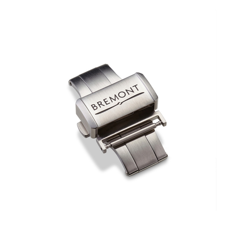 Bremont Brushed Stainless Steel Deployment Clasp - 20mm, BRS40,  [product_GENDER]