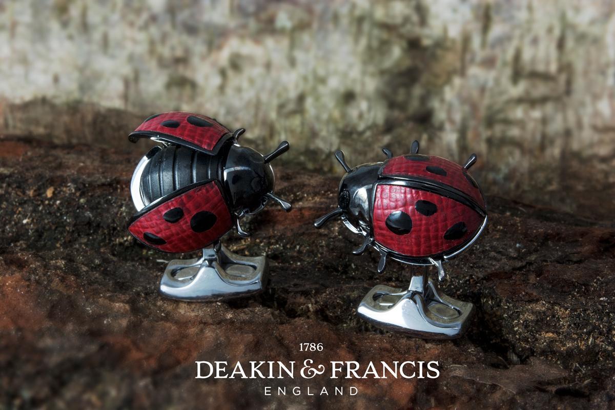 Deakin & Francis Ladybird Cufflinks