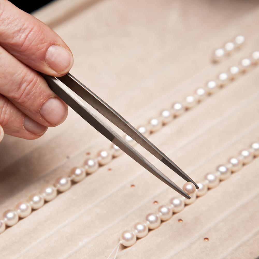 Pearl restringing